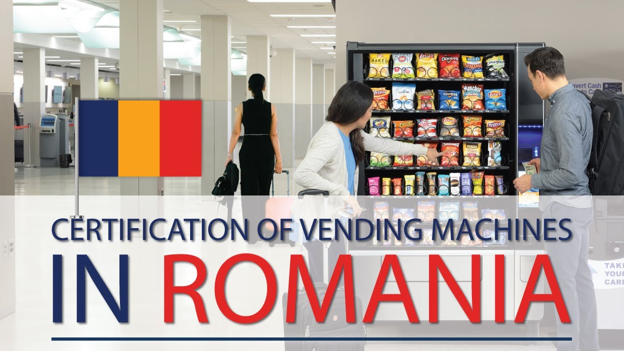 Certification of vending machines in Romania