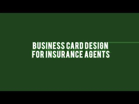 mp4 Insurance Agent Business Card Templates, download Insurance Agent Business Card Templates video klip Insurance Agent Business Card Templates