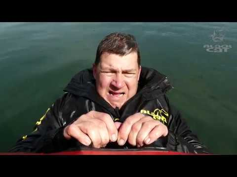 Mit Sicherheit am Wasser - Überlebe ich mit Wathose im Unglücksfall? Sascha Kral macht den Test