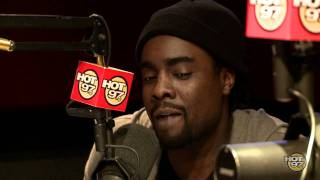 Wale on The Angie Martinez Show  10-26-11