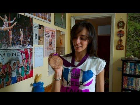 Romina Laurito lascia la ginnastica con la medaglia al collo