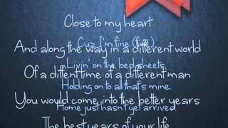 April Sixth- Foster (lyrics)