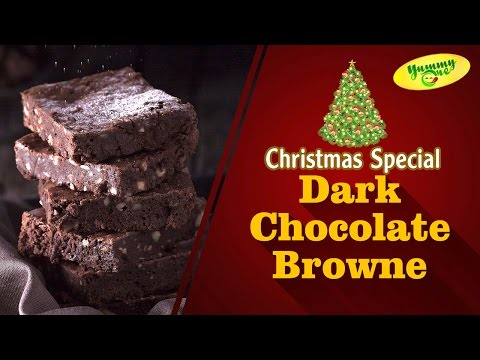 Dark Chocolate Brownie || Christmas Special Recipe || Yummy One
