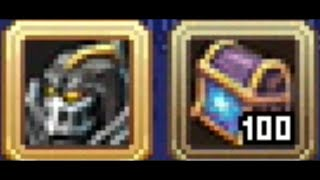 Warspear Online wining and opening chests