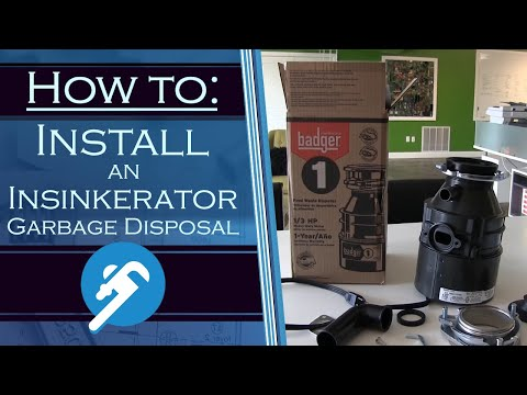 How to Install an Insinkerator Garbage Disposal - PlumberStock.com