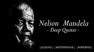 Quotes about Life – Nelson Mandela - | Motivation | | Inspiration |