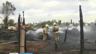 По факту пожаров в красноярском регионе следователи возбудили четыре уголовных дела