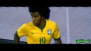 ブラジル代表MFウィリアントルコ戦で話題の『エラシコ』倍速&倍々速スロー/WillianBorgesdaSilva