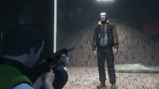 What Happens If You Visit Trevor's Body After the Final GTA 5 Mission? (Niko Bellic Found)