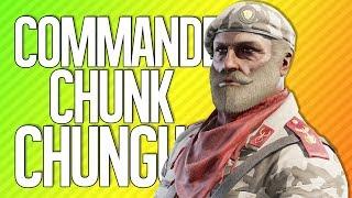 COMMANDER CHUNK CHUNGUS   Rainbow Six Siege