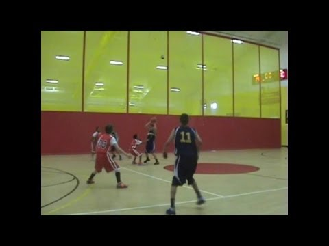 Liam Abujawdeh #11 Shore Blazers AAU Game Highlights