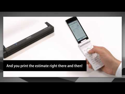 Brother PocketJet - JPEG printing - Print anywhere, anytime