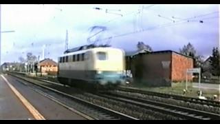 preview picture of video '7. April 1995: Züge in Klecken, Radbruch und Winsen (Luhe)'