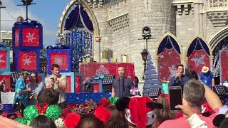 Walt Disney World 98 Degrees Christmas- Live pre-take