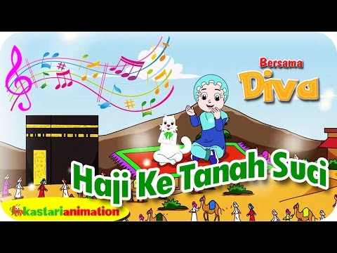 Haji ke tanah suci   lagu anak indonesia   hd   kastari animation official