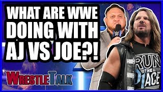 What Are WWE Doing With AJ Styles Vs. Samoa Joe?! | WWE Smackdown Live Aug. 14 Review