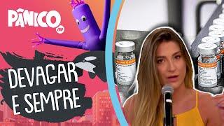 Kallyna Sabino fala sobre avanços da CoronaVac e passos de tartaruga da vacina russa no Brasil