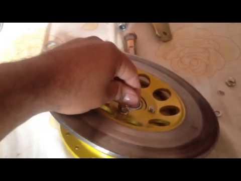 Adaptación freno disco trasero para moto rx