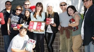 Blanket Drive 2013 with Karina Smirnoff from Dancing with the Stars -  PHAMOUS FOTOS