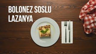Bolonez Soslu Lazanya
