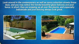 Things to Know About Balustrade and Pool Fencing