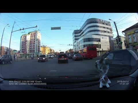 Пробка жесть!!! Перекресток улиц Ленина и Воровского г. Киров