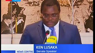 SENATE INDUCTION:Lusaka presides over workshop.