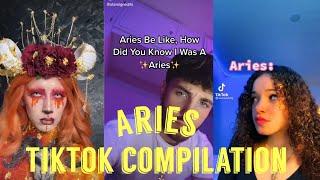 Aries Zodiac Sign TikTok Compilation♈️
