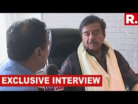 Watch Shatrughan Sinha Speaks To Republic TV In An EXCLUSIVE Interview