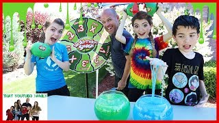 Watermelon Smash With SLIME! / That YouTub3 Family