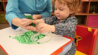 ALEX Toys Finger Paint Paper And Tray
