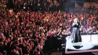 Adele live tour 2016 funny moments