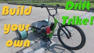 125cc 4-Speed Motorized Drift Trike Build