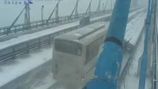 Авария с автобусом во Владивостоке