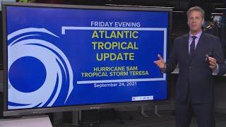 Tropics update: Tracking Hurricane Sam, Tropical Storm Teresa
