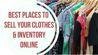 Best Places to Sell Your Clothes Online