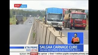 SALGAA CARNAGE CURE: Data shows accidents have reduced since building of 40km wall