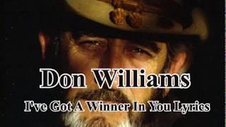 I've Got A Winner In You Lyrics - YouTube