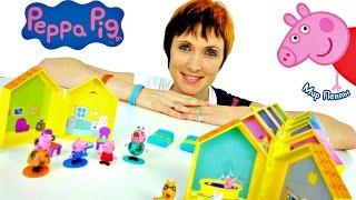 Веселые игры для детей. Мир Свинки Пеппы.