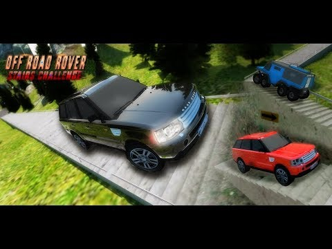 Real Offroad Rover Stunts: Dragon Road Stairs Challenge Android Gameplay