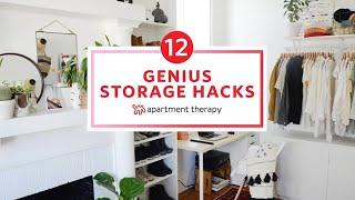 12 Genius Storage Hacks | Apartment Therapy