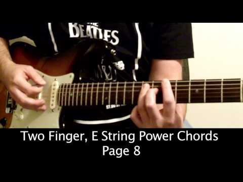 Page 8 - Two Finger, E String Power Chords - Guitar