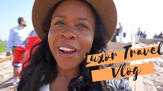Luxor, Egypt Travel Vlog | Hot Air Balloon Ride, Temples And More!
