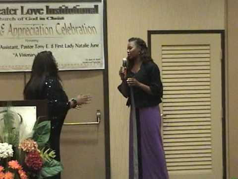 KIM BURRELL PART 5 of 6 Holy Ghost (audience participation)