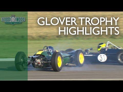 Lotus v Ferrari in Goodwood F1 battle | 2019 Glover Trophy highlights