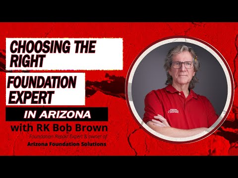 Bob Brown is a certified foundation repair specialist and the owner of Arizona Foundation Solutions, a Tucson, AZ company specialized in structural damage repair and structural stabilization of all types of residential and commercial foundations.