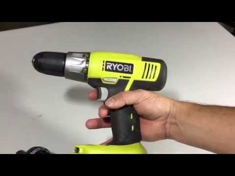 18 Volt Lithium ONE Plus RYOBI Cordless Drill Product Review