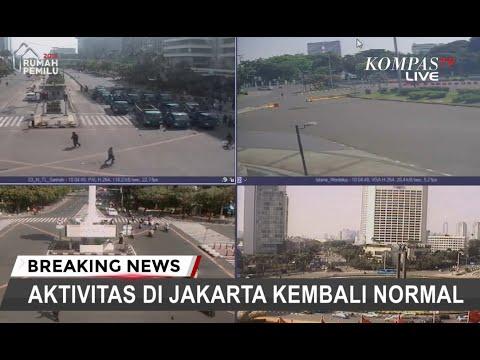 Pasca-aksi 22 Mei, Aktivitas di Jakarta Kembali Normal