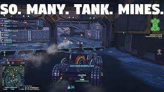 Planetside 2- So. Many. Tank. Mines.