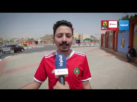 العرب اليوم - شاهد: مُشجِّع مصري مهووس بالمنتخب المغربي